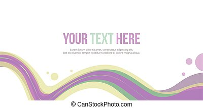 Header website abstract background wave collection