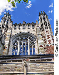 Sterling Law School Building Yale University New Haven...