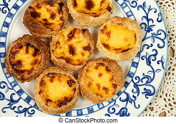 Portugese pastries - pasteis de nata Delicious home made...