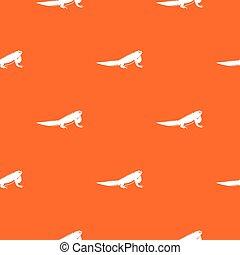 Iguana pattern seamless - Iguana pattern repeat seamless in...
