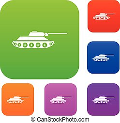 Tank set collection