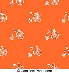 Penny-farthing pattern seamless - Penny-farthing pattern...