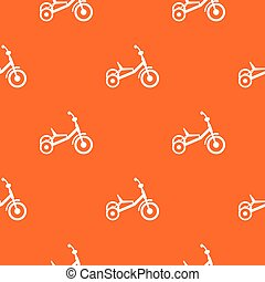 Tricycle pattern seamless - Tricycle pattern repeat seamless...