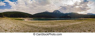 Lake Zabljak in the Durmitor National Park.