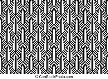 Netting seamless pattern.