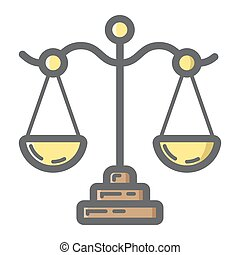 Libra filled outline icon, business and finance