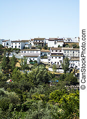 Typical village in Andalucia, southern Spain