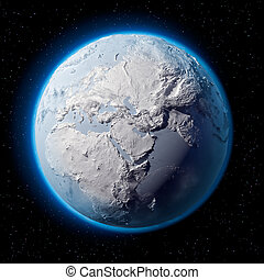 Snow Planet Earth