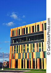 Colordul modern office building - Superb modern architecture...