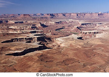 Green River Overlook - The classic view of Canyonlands...