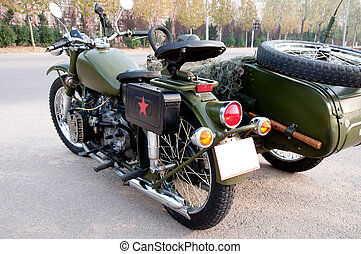 750B-2 motorcycle with a sidecar 2 - Chang Jiang 750B-2...