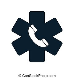 life star medical emergency phone icon