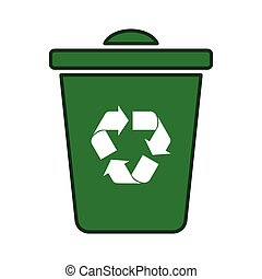 recycle icon green transparent