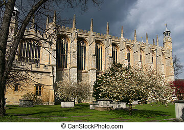 Eton College Chapel, Windsor - View of Eton College Chapel,...