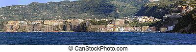 Sorrento Panorama - Sorrentine Peninsula Panorama at...