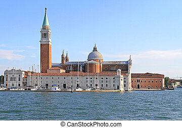 San Giorgio Maggiore - Island San Giorgio Maggiore With Big...