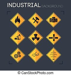 Industrial Icons Collection