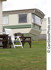 Mobile Home in Pembrokeshire - Mobile home in a caravan park...