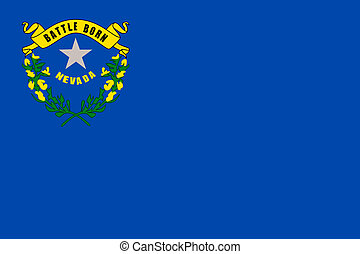 Nevada state flag - Illustration of Nevada state flag of...
