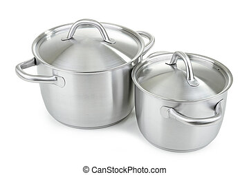 cooking pot - isolated cooking pot