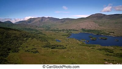 Aerial, Ladies View, County Kerry, Ireland - Graded and...