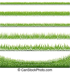 Grass Borders Set