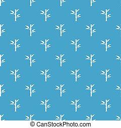 Bamboo pattern seamless blue - Bamboo pattern repeat...