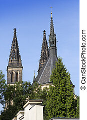 Church of St Peter and Paul at Vysehrad in Prague, Czech...