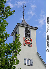 Church - A Church in Baden-Wuerttemberg, Germany