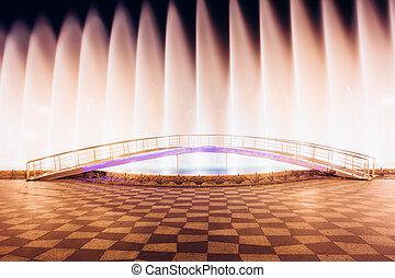 Batumi, Adjara, Georgia. Singing And Dancing Fountains Is...