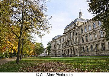 Erlangen, herfst