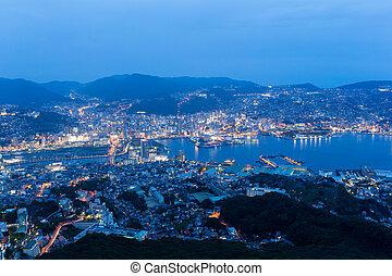 Nagasaki city night