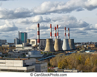 Central Heating and Power Plant