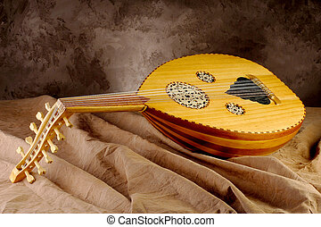 instrument),  musical,  (malay,  gambus