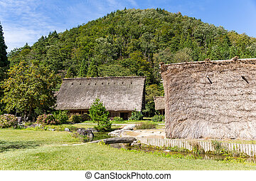 Historic village of Shirakawago