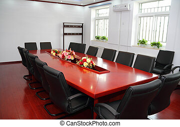Conference Room - empty business conference room in china