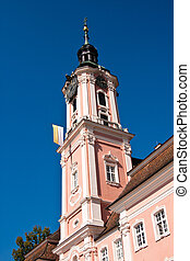 Church Birnau, Germany - pilgrimage church Birnau, Lake...