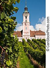 Church Birnau, Germany - pilgrimage church Birnau, Lake...