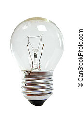 lamp bulb isolated on white