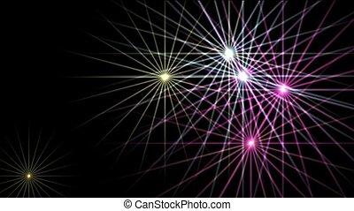 flare purple stars,disco ray light,Christmas...