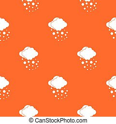 Cloud with hail pattern seamless - Cloud with hail pattern...