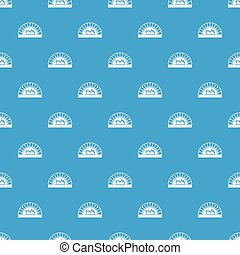 Pizza oven with fire pattern seamless blue