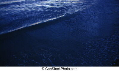 A close shot of the waves - A close shot of waves on a birds...