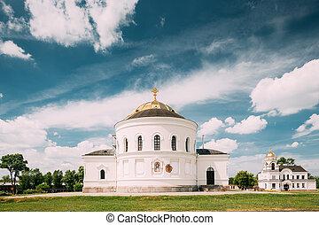Brest, Belarus. Garrison Cathedral St. Nicholas Church In...