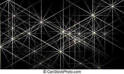 flare white stars,disco ray light,Christmas background,fiber...