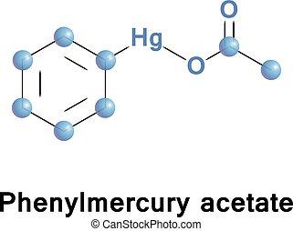 Phenylmercuric acetate disinfectant. - Phenylmercuric...