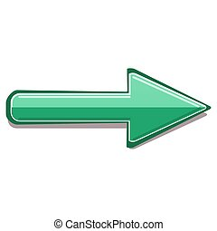 Image of colored 3d arrows. vector illustration.