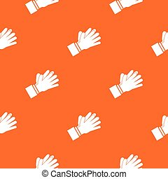 Clapping applauding hands pattern seamless - Clapping...