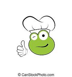 frog smile - design frog kitchen