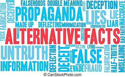 Alternative Facts Word Cloud - Alternative Facts word cloud...